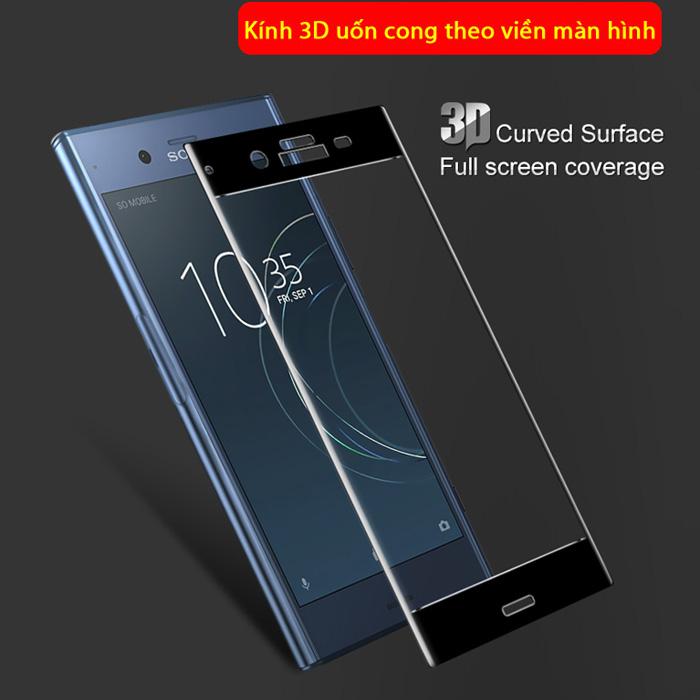 Kính cường lực Sony XZ1 Imak 3D Edge full cong theo màn hình