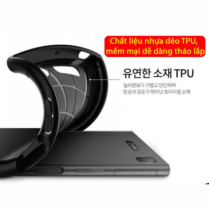 Ốp lưng Sony XZ1 Spigen Rugged Armor nhựa dẻo từ USA
