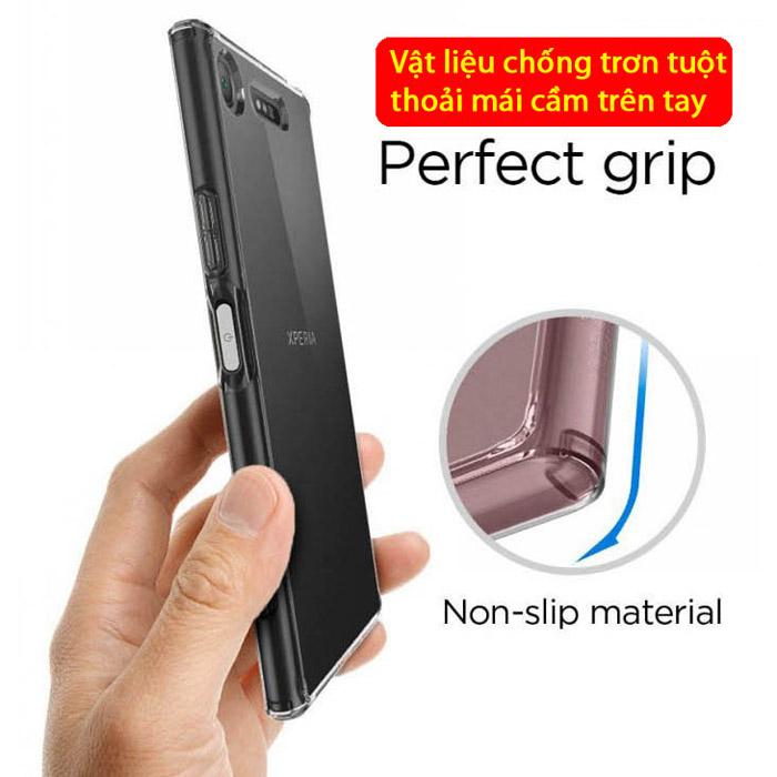 Ốp lưng Sony XZ1 Spigen Ultra Hybrid Crystal trong suốt từ USA