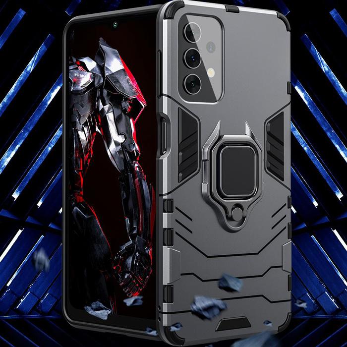 Ốp lưng Samsung A52 5G LT iRon Man iRing 360 phiên bản mới