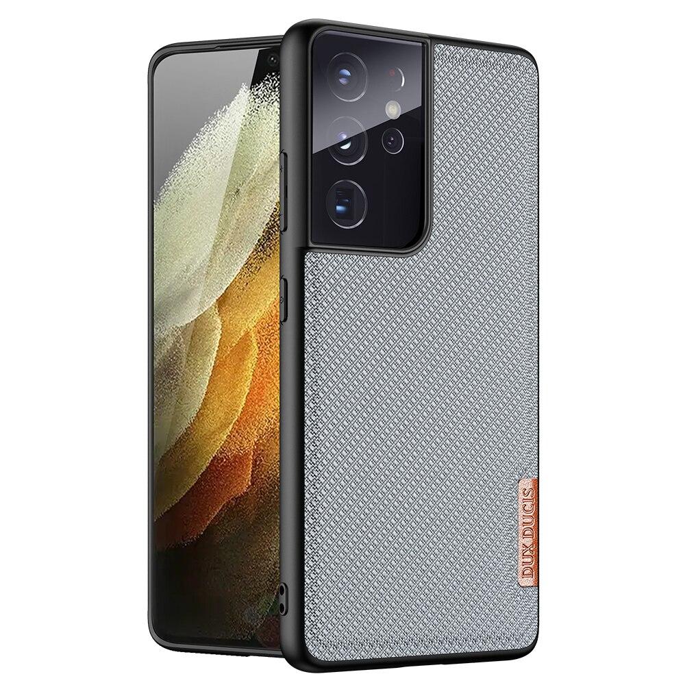 Ốp lưng Samsung S21 Ultra 5G Dux Ducis Fino dệt sợi Nylon siêu bền