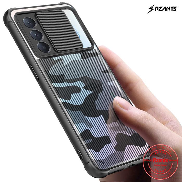 Ốp lưng Oppo Reno 5 Rzants Camouflage Lens bảo vệ camera