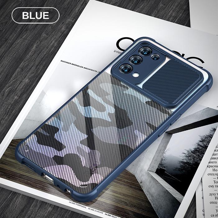 Ốp lưng Oppo Reno 5, Reno5 5G Rzants Camouflage Lens bảo vệ camera