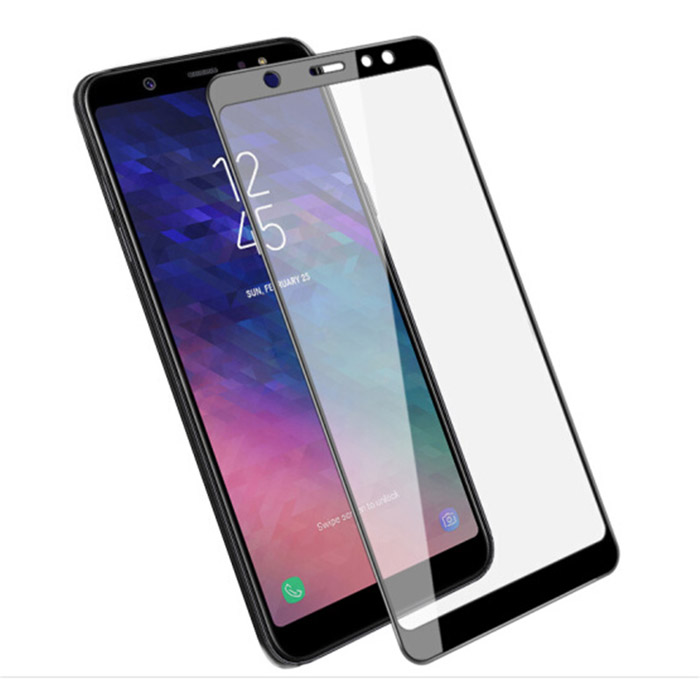 Kính cường lực full màn hình Galaxy A6 Plus 2018 Glass 5D phủ keo toàn màn hình