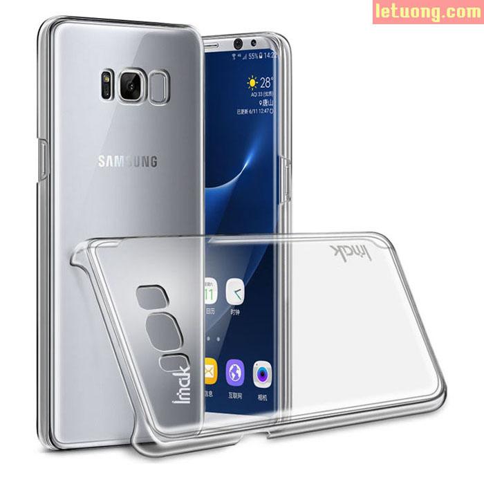 Ốp lưng Galaxy S8 Imak Nano trong suốt không ố vàng siêu mỏng 0,7mm