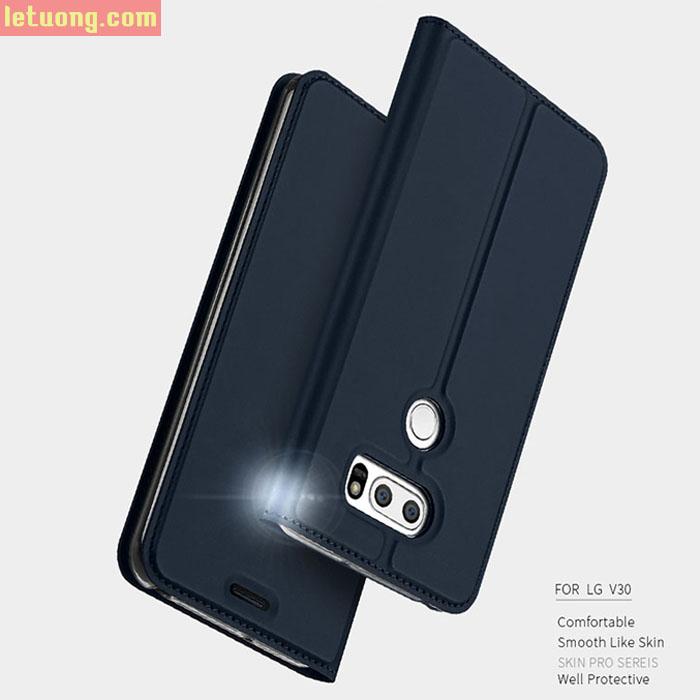 Bao da LG V30 Dux Ducis Skin khung mềm, siêu mỏng, thời trang