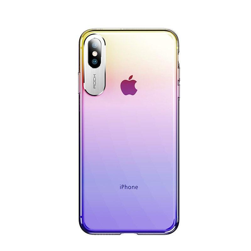 Ốp lưng iPhone Xs Max Rock Gorgeous Color trong suốt - 2 màu sắc