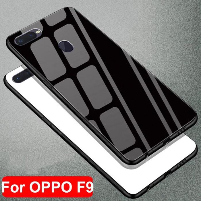 Ốp lưng Oppo F9 LT Glass Case 9H lưng kính cường lực