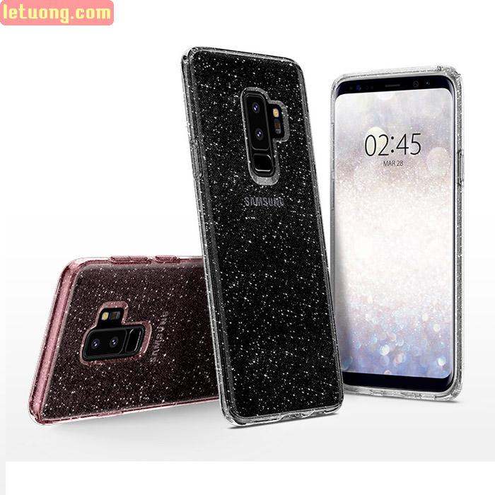 Ốp lưng Galaxy S9 Plus Spigen Liquid Crystal Glitter từ Mỹ tuyệt đẹp
