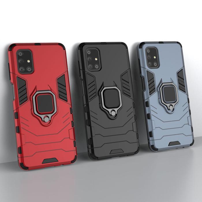 Ốp lưng Galaxy M51 LT iRon Man iRing 360 phiên bản mới