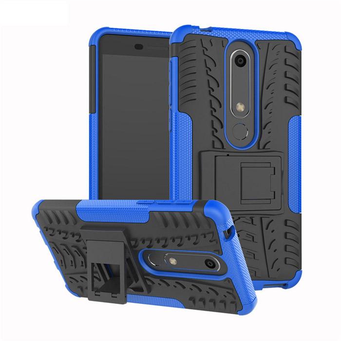 Ốp lưng Nokia 6 New 2018 LT Armor Special chống sốc - chân chống