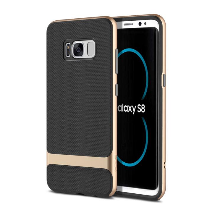 Ốp lưng Galaxy S8 Plus Rock Royce viền kép chắc chắn, độc đáo
