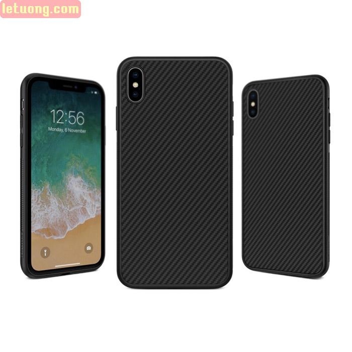 Ốp lưng iPhone Xs Max Nillkin Fiber sợi Carbon siêu bền - sang trọng