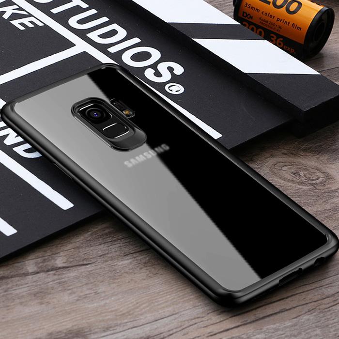 Ốp lưng Samsung Galaxy S9 Ipaky Original Hybrid trong suốt viền mềm