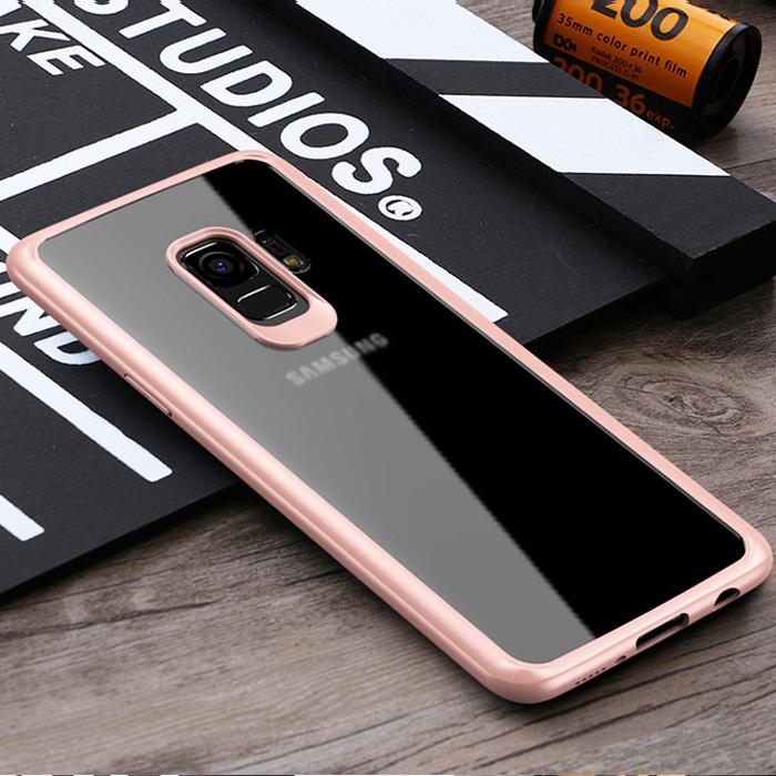 Ốp lưng Galaxy S9 Plus Ipaky Original Hybrid - tặng dán lưng Carbon
