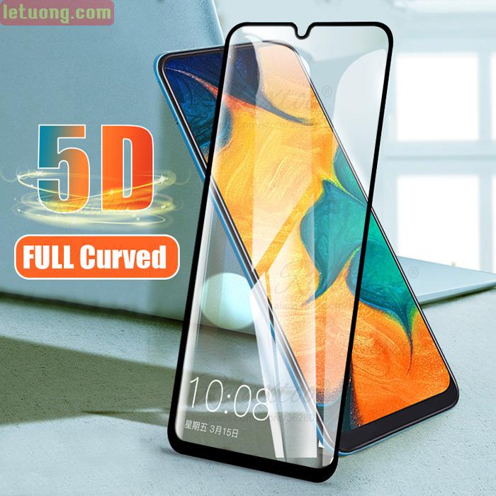 Kính cường lực Galaxy A30 Glass Full Cover 5D XỊN Cong theo màn hình