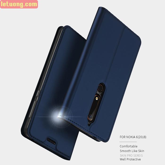 Bao da Nokia 6 New 2018 Dux Ducis Skin khung mềm - siêu mỏng