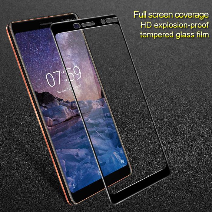 Kính cường Nokia 7 Imak Full Cover 3D che toàn màn hình