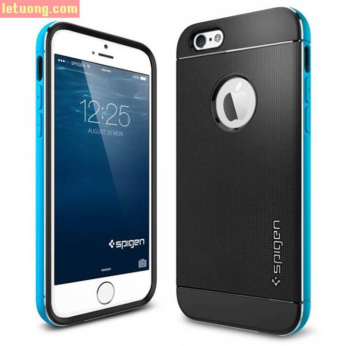 Ốp lưng Iphone 6/6S Spigen Neo Hybrid Metal ( USA )
