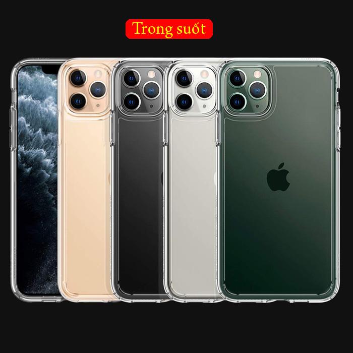 Ốp lưng iPhone 11 Pro Max Spigen Ultra Hybrid trong suốt ( hàng USA )