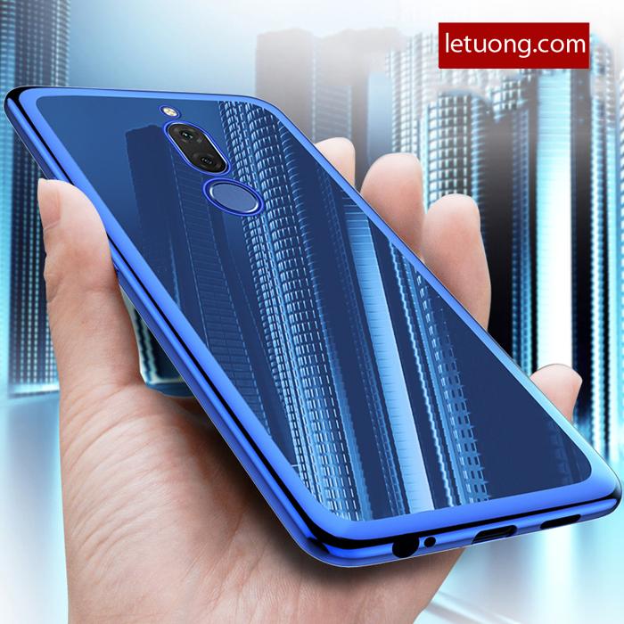Ốp lưng Huawei Nova 2i LT Gliiter viền mạ Crom sáng bóng sang trọng