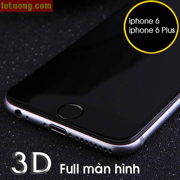 Kính cường lực Iphone 6 Plus/6S Plus Nillkin 3D CP+ MAX full màn hình