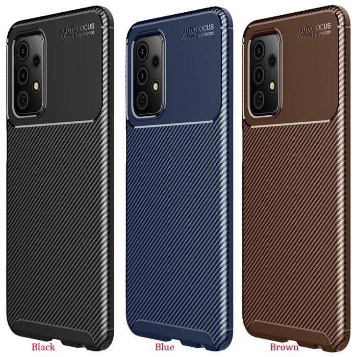 Ốp lưng Samsung A72 5G LT Carbon Fiber Case chống bám vân tay