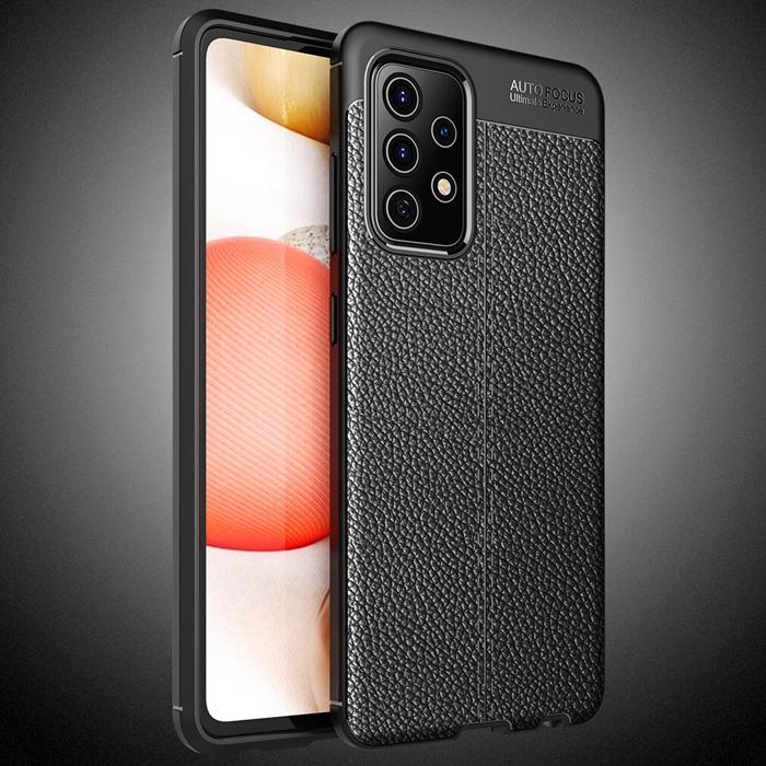 Ốp lưng Galaxy A72 5G LT Leather Design Case vân da sang trọng