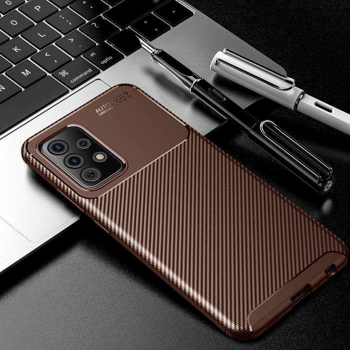 Ốp lưng Galaxy A52 5G LT Carbon Fiber Case chống bám vân tay