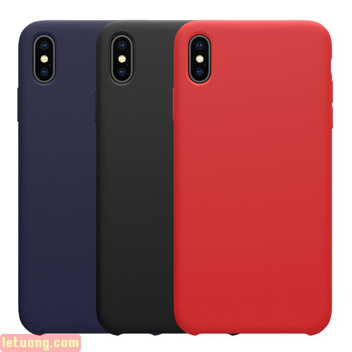 Ốp lưng iPhone Xs Max Nillkin Flex Case Silicon mềm mịn như da em bé