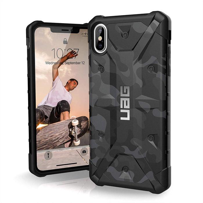 Ốp lưng iPhone Xs Max UAG Pathfinder SE Camo - họa tiết quân đội ( Hàng USA )