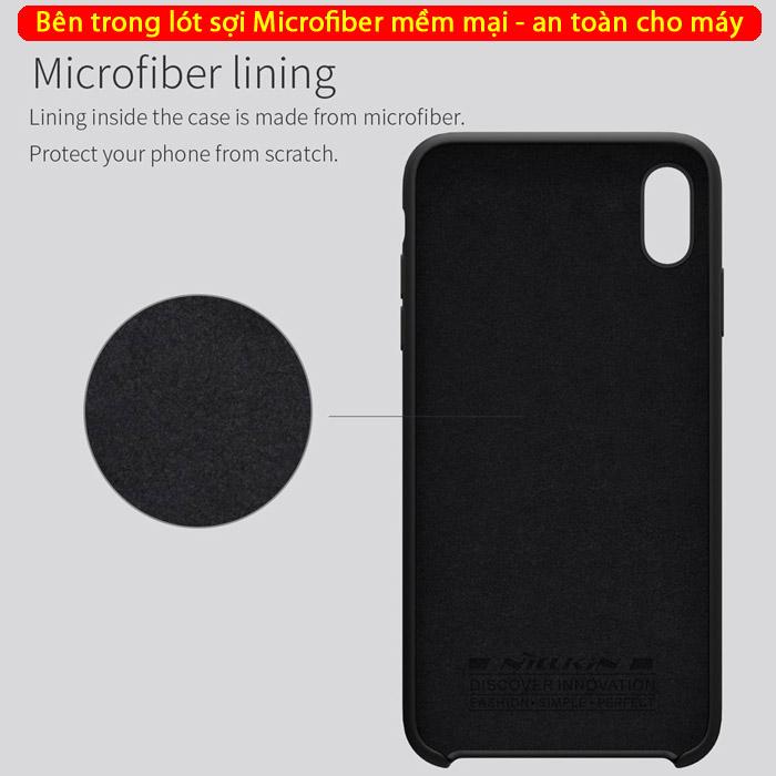 Ốp lưng iPhone Xs Max Nillkin Flex Case Silicon mềm mịn