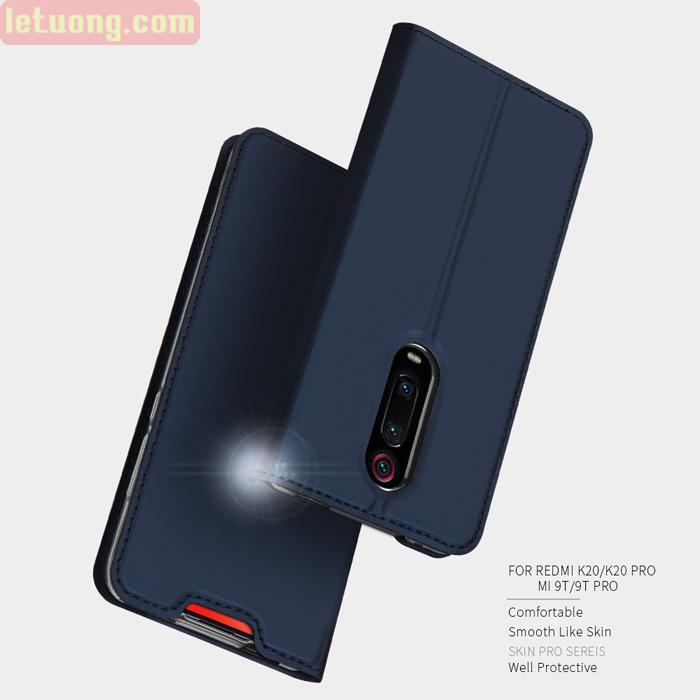 Bao da Xiaomi Mi 9T / Mi 9T Pro Dux Ducis Skin khung mềm - siêu mỏng - siêu mịn