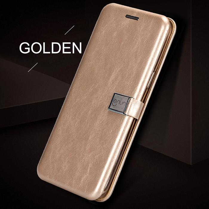 Bao da Galaxy S9 Plus Lenuo Lebe Flip Case - tặng dán lưng Carbon