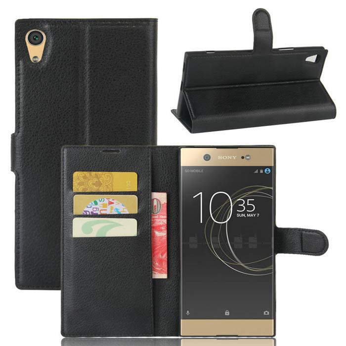 Bao da Sony XA1 Ultra LT Flip Wallet dạng ví đa năng khung mềm