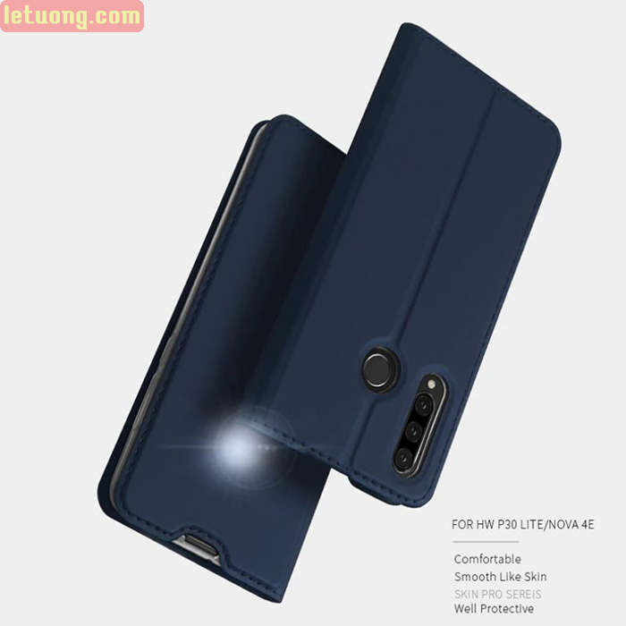 Bao da Huawei P30 Lite Dux Ducis Skin khung mềm - siêu mỏng - siêu mịn