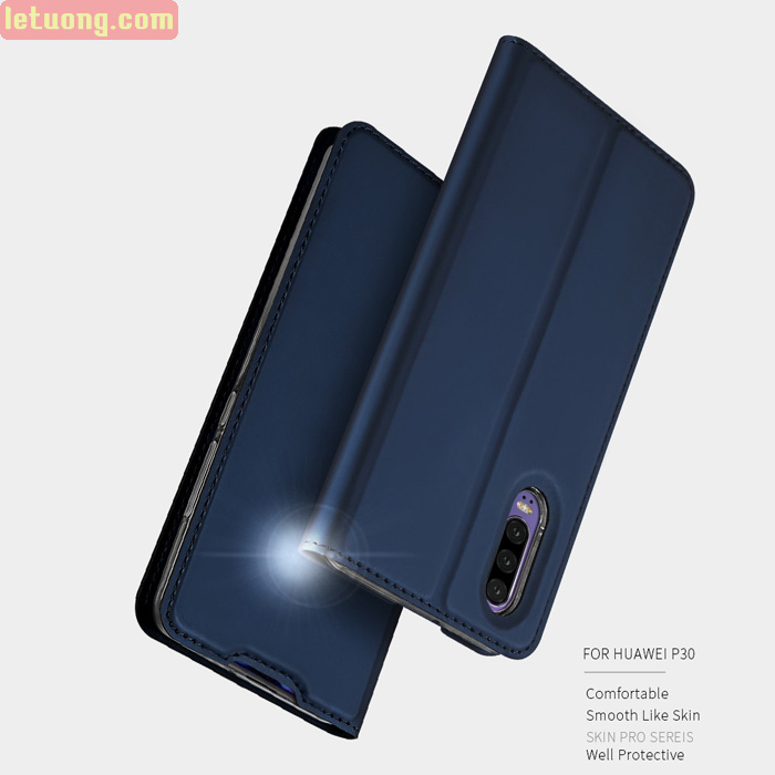 Bao da Huawei P30 Dux Ducis Skin khung mềm - siêu mỏng - siêu mịn