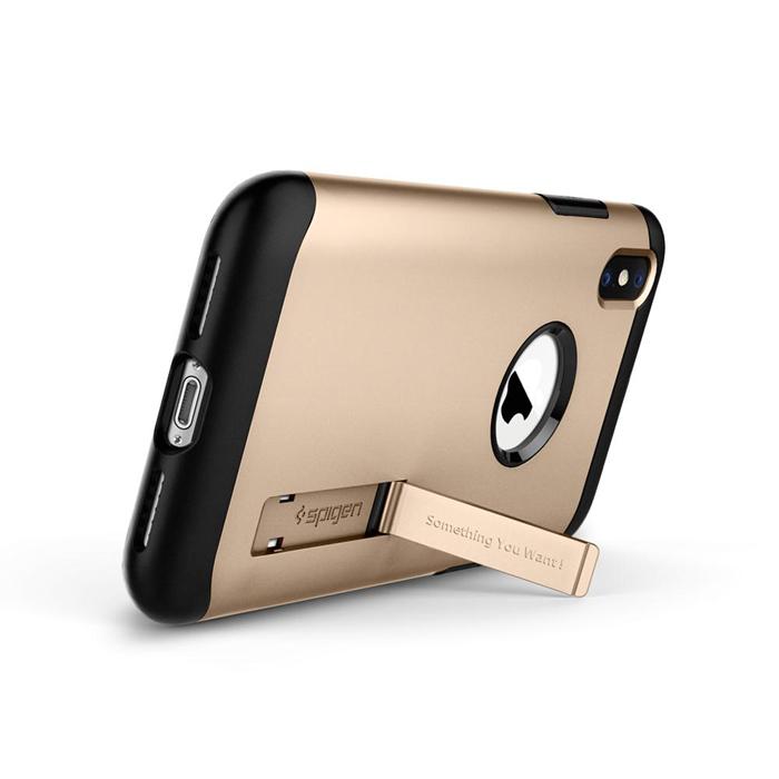 Ốp lưng iPhone Xs Max Spigen Slim Armor chống sốc ( Hàng USA )