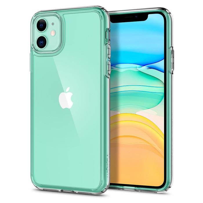 Ốp lưng iPhone 11 Spigen Ultra Hybrid trong suốt chống sốc ( hàng USA )