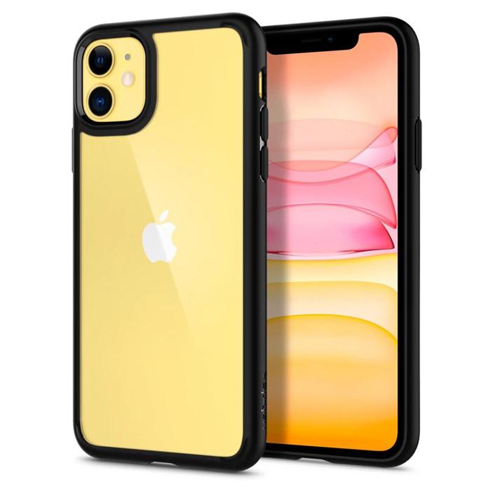 Ốp lưng iPhone 11 Spigen Ultra Hybrid trong suốt ( hàng USA )