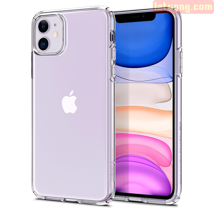 Ốp lưng iPhone 11 Spigen Liquid Crystal nhựa mềm trong suốt ( USA )