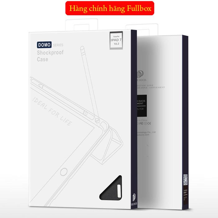 Bao da iPad 10.2 inch 2019 Dux Ducis Domo Tiện Lợi - Chống Sốc