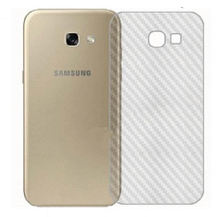 Miếng dán full mặt lưng Galaxy A5 2017 vân Carbon chống vân tay