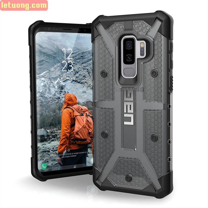 Ốp lưng Galaxy S9 Plus UAG Plasma Armor trong suốt, chống sốc từ USA