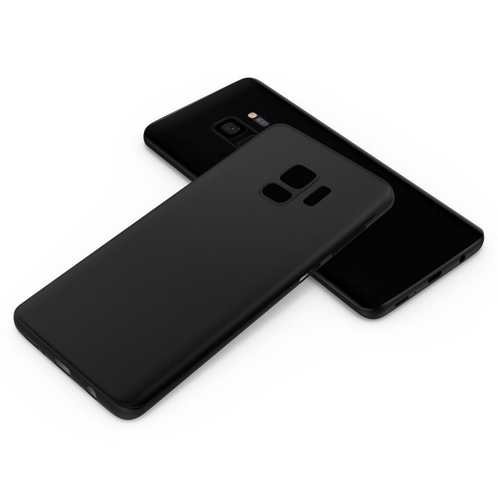 Ốp lưng Galaxy S9 Spigen Air Skin 0,4mm mỏng nhẹ nhất từ USA - tặng dán lưng Carbon