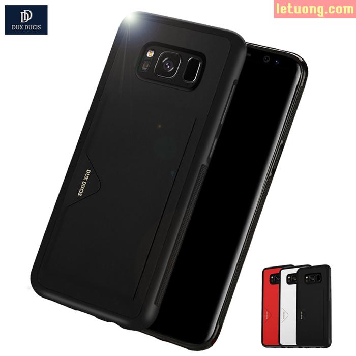 Ốp lưng Galaxy S8 Dux Ducis Pocard tinh tế, độc đáo chống sốc