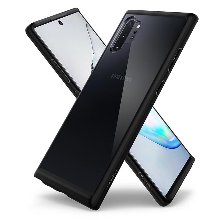 Ốp lưng Galaxy Note 10 Plus Spigen Ultra Hybrid trong suốt ( Hàng USA )