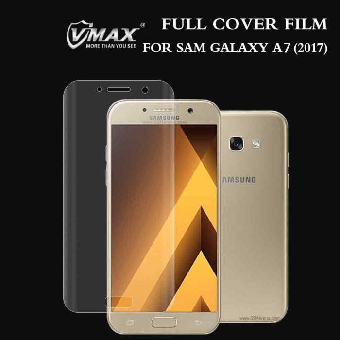 Miếng dán full màn hình Galaxy A7 2017 Vmax 3D Curved TPU