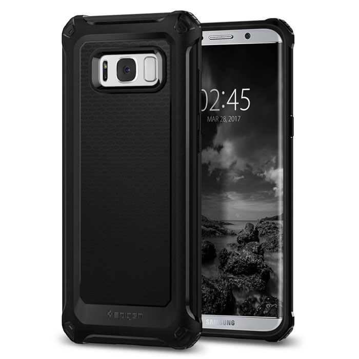 Ốp lưng Galaxy S8 Spigen Rugge Armor Extra hầm hố chống sốc