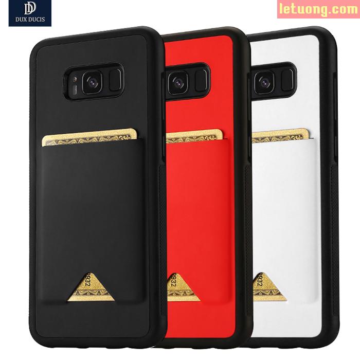 Ốp lưng Galaxy S8 Plus Dux Ducis Pocard tinh tế, độc đáo chống sốc